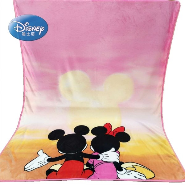 Couvertures de canapé décoratifs   Couches plates, bleu vif Disney mantas para, Mickey Mouse, couverture de couchage Air jet pour garçons et filles