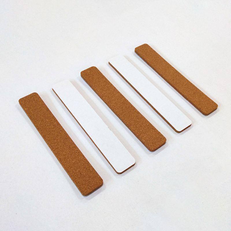 10 Uds sin marco corcho adhesivo Tabla de tiras para aula Oficina Escuela Hogar B85B