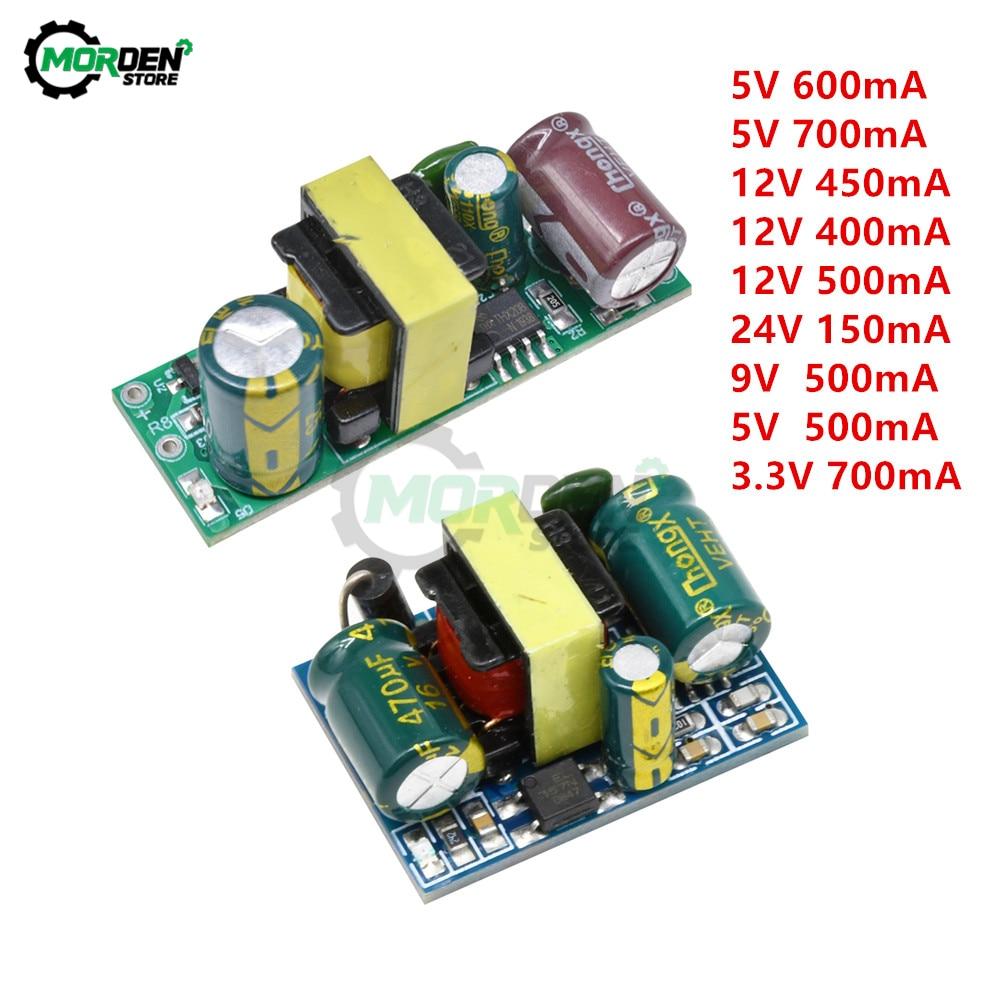 AC-DC 5V 700mA 12V 500mA 9V 9V 500mA DIY del transformador de potencia módulo convertidor reductor AC 220V a 5V DC módulo de fuente de alimentación