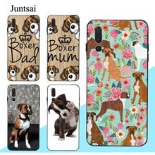 Boxer Dog Puppy Quote Art Case For Huawei P20 P30 P40 Lite Pro Mate 10 20 30 Lite P Smart 2019 Z