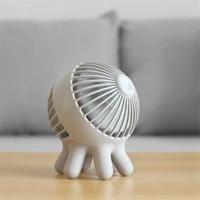 usb charging longer life portable mini handheld fan mute office fan air cooler three speed wind speed adjustable