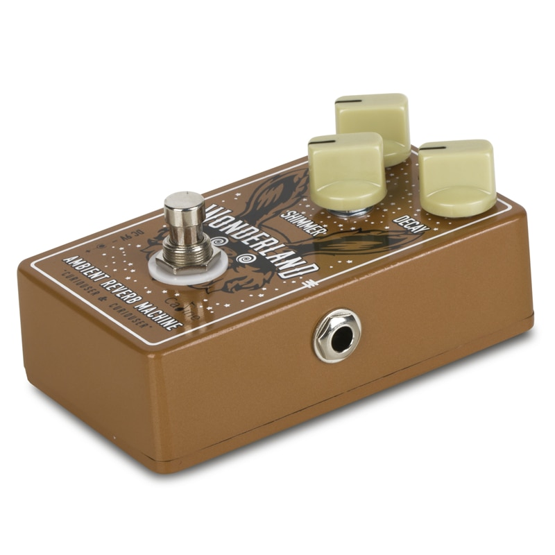 Caline CP-508 Wonderland Reverb Guitar Effect Pedal Guitar Accessories enlarge