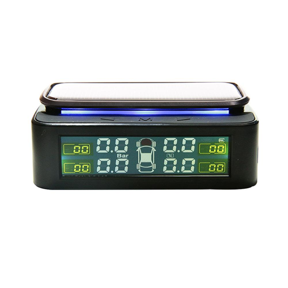 Smart Car TPMS External Tyre Pressure Monitoring System USB/Solar Power Auto Security Alarm Systems