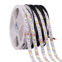 5050 Led Strip Wit/Warm Wit 60 Leds/M Led Strip Licht Dc 12V 5050 Flexibele Led strip Licht 1 M 2 M 3 M 4 M 5 M