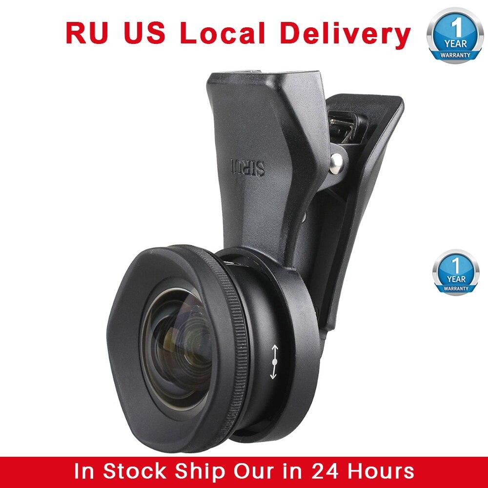 Sirui-عدسة هاتف ماكرو 10X ، عدسة عريضة الزاوية 18 مللي متر 60 مللي متر ، عدسة عين السمكة ، كاميرا تليفوتوغرافي لهاتف iPhone 11 Pro Max 8 7 Huawei