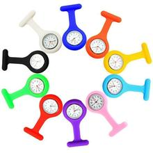 Hot Sell Fashion Pocket Watches Silicone Nurse Watch Brooch Fob Pocket Tunic Quartz Movement Watches