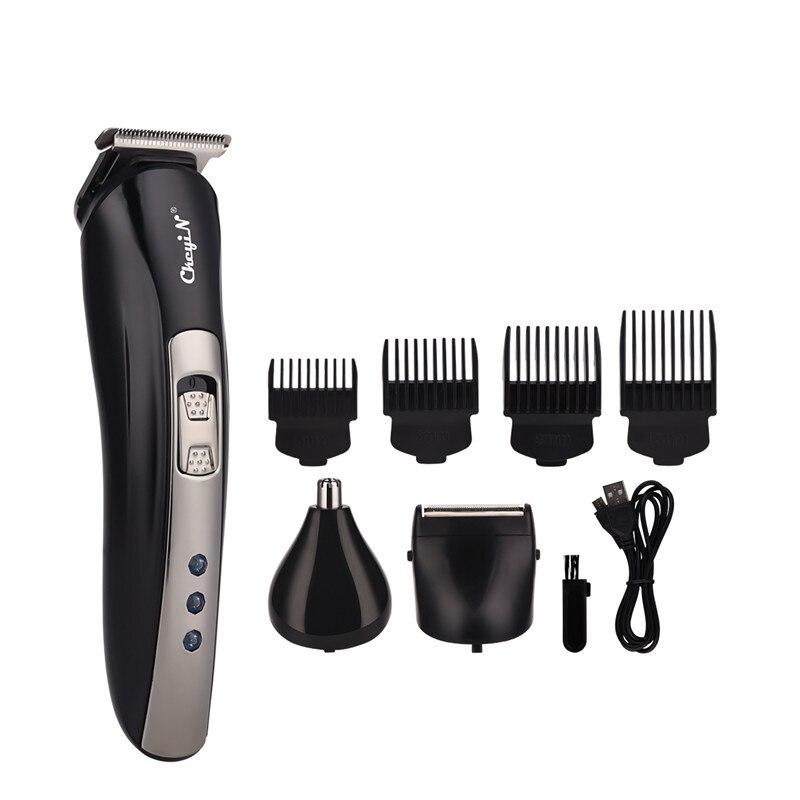 3 In 1 Hair Clipper Professional Electric Hair Trimmer Men Haircutting Machine Haircut Electric Shav