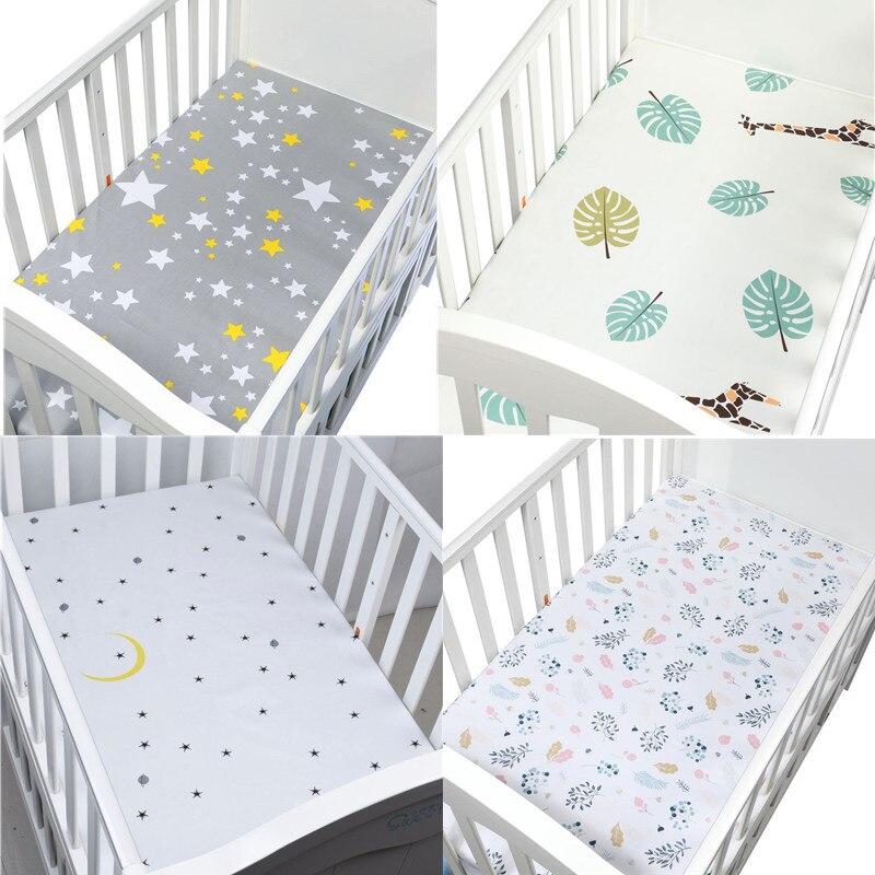 130 см х 70 100% хлопок матрасы детские простынь на детскую кроватку детское