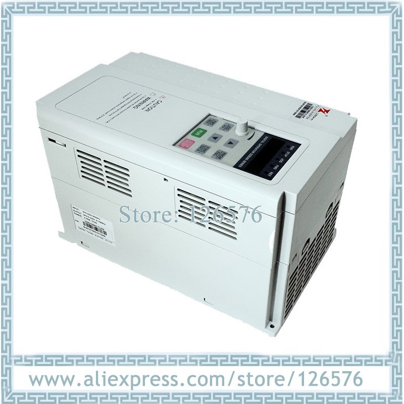 Fuling DZB312B007.5L4DK inversor de frecuencia 1000HZ 7.5Kw AC380V inversor de frecuencia VFD para motor de husillo