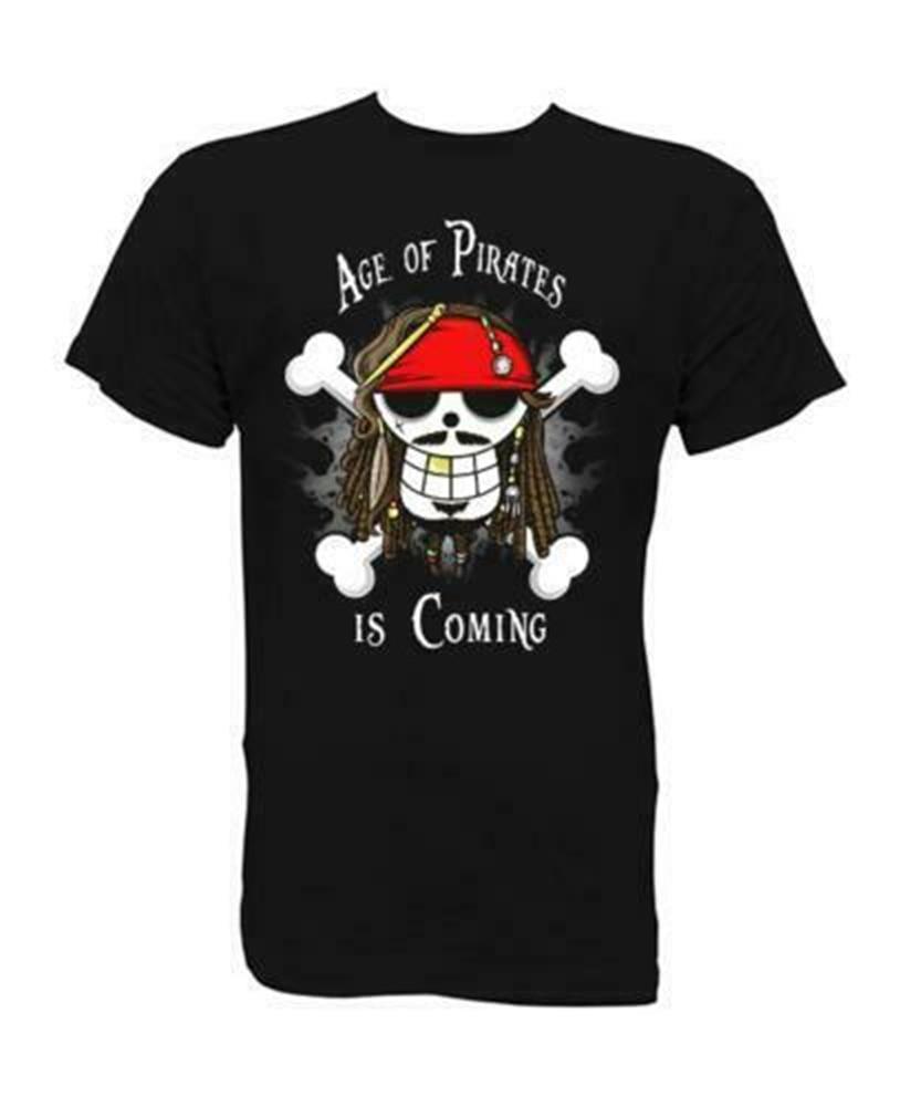 Camiseta de Piratas Del Caribe para hombre, camisa clásica de moda, de...