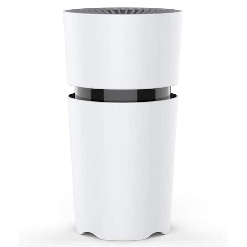 Мини-очиститель воздуха для спальни, настольный очиститель воздуха для дома, HEPA-очиститель воздуха с реальными фильтрами воздуха, автомоби...