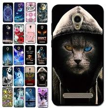جديد نمط كول القط الحيوان حافظة هاتف خاصة ببريستيجيو Wize YA3 PSP3416 الإسكان شل حقيبة الهاتف ملحقات الهاتف الحالات الهاتف