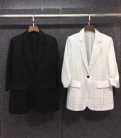 2021 new women fashion lapel symmetrical pockets ruffled sleeves printed blazer top 728