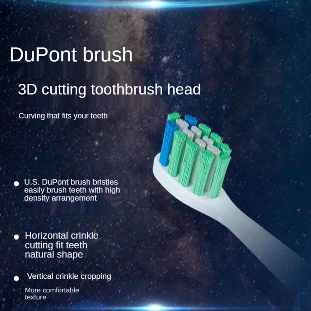 Javemay Spacehold Sonic Electric Toothbrush Sterilization Air-drying Portable Adult Couple IPX7 Ultrasonic Automatic Tooth Brush enlarge