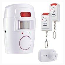 2 Remote Controller Wireless Car Home Security PIR Alert Infrared Sensor Alarm system Anti-theft Mot