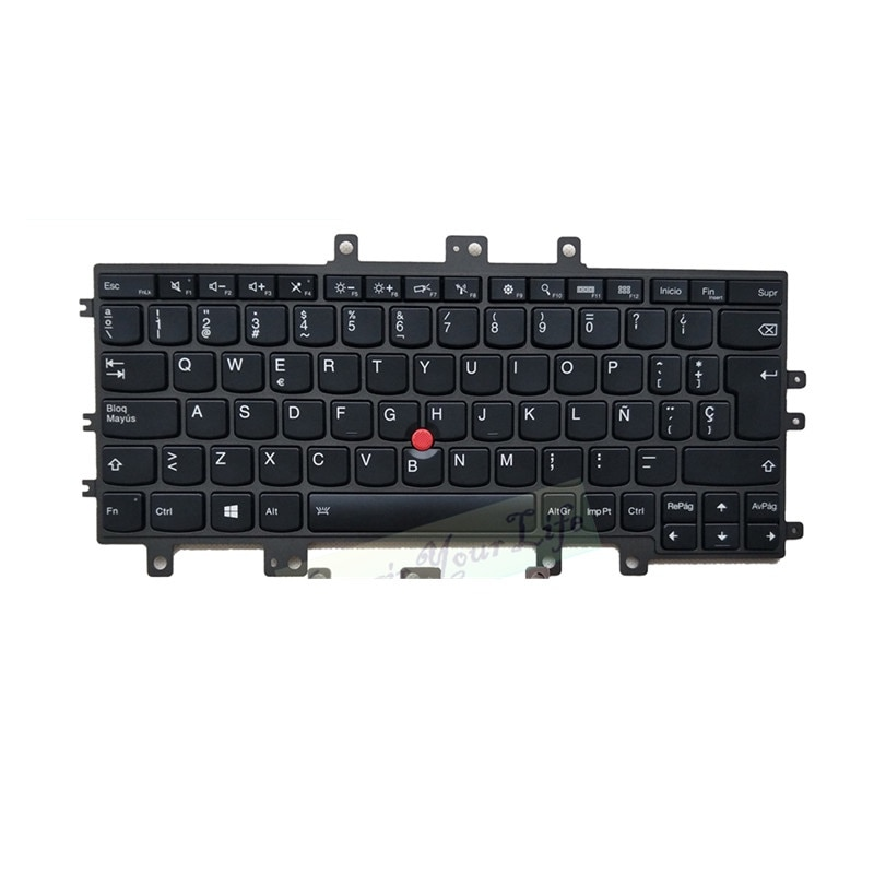 Teclado de ordenador portátil OVY SP para LENOVO Thinkpad Helix G2 2ª 20 20CG 20CH con retroiluminación P/N SN20E75234 KB, gran oferta de 2 tornillos españoles