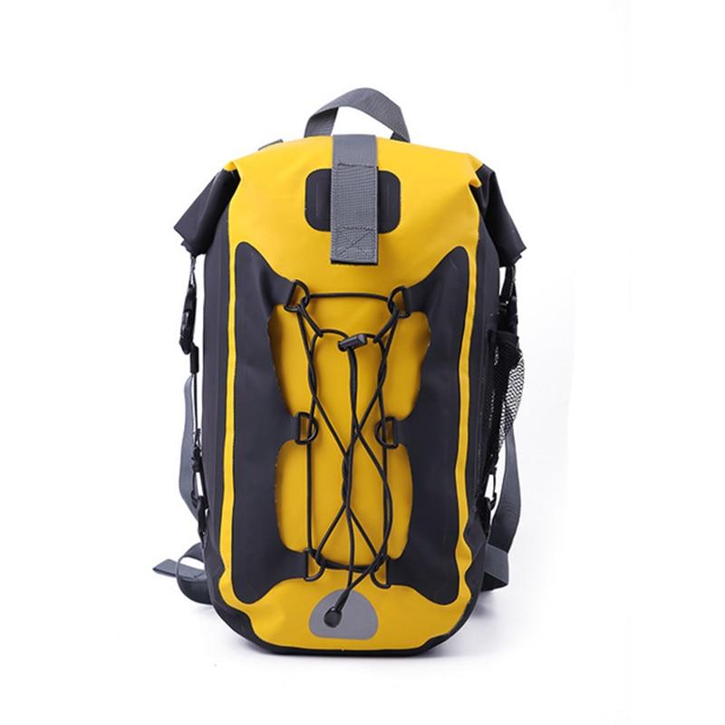 Impermeable Trekking Ocean Pack Waterproof Bag Dry Bag Backpack Rafting Swimbag Outdoor Kayak Paddle Storage Rucksack 20L