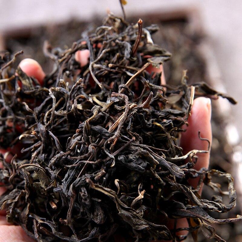 تشيان يونان التخصص بوير شنغ الشاي الشاي فضفاضة ورقة كبيرة الشاي الخام 250g الشاي الأخضر الغذاء للرعاية الصحية فقدان الوزن