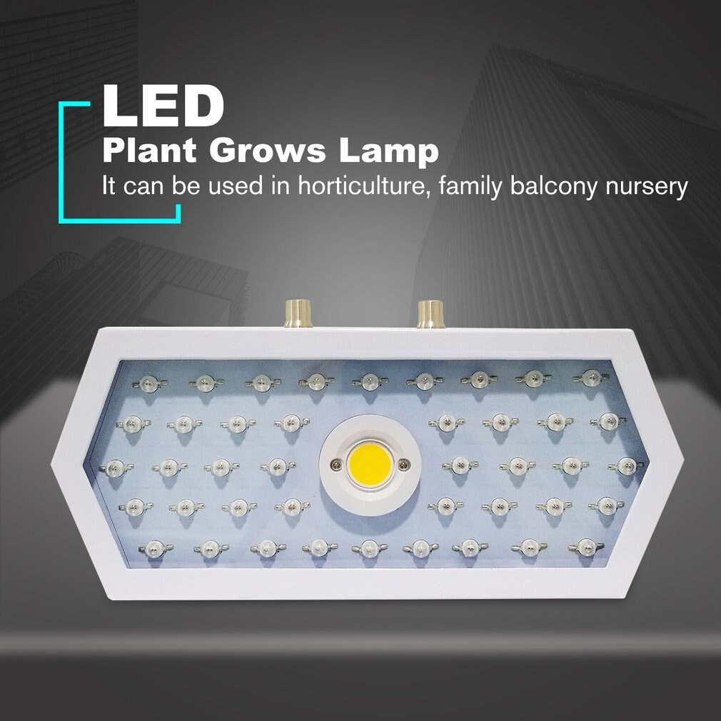Plantas LED crecer luz espectro completo 1000W doble Chip rojo/azul/UV/IR larga luz Hexagonal para plantas de interior