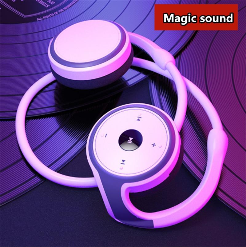 I7 بلوتوث 5.0 سماعة ماجيك الصوت الرياضة اللاسلكية سماعة طويلة وقت اللعب المحمولة الموسيقى سماعة رأس مزودة بميكروفون