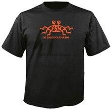 Volant Spaghetti monstre FSM il a bouilli pour vos péchés t-shirt t-shirt drôle