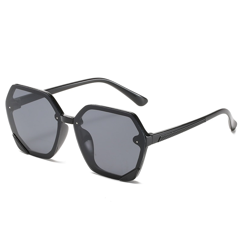 2020 Vintage Children Hexagon Sunglasses Fashion Colorful Gradient Kid Sun Glasses Boy Girl Unisex R
