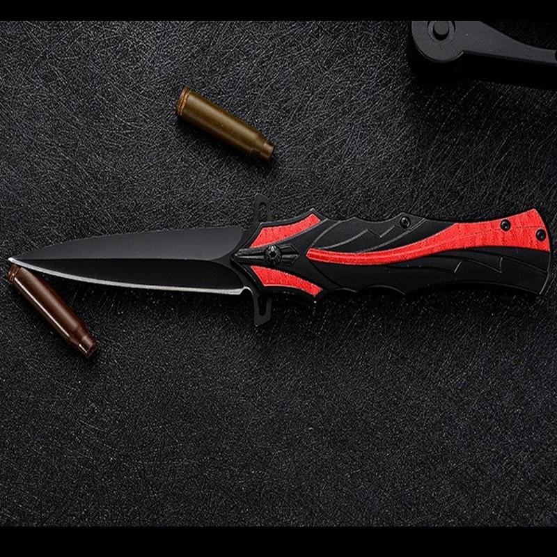 High-hardness Outdoor Folding Knife Self-defense Mini Multi-function Folding Knife Tactical Knife  Pocket Knife  Folding Knife