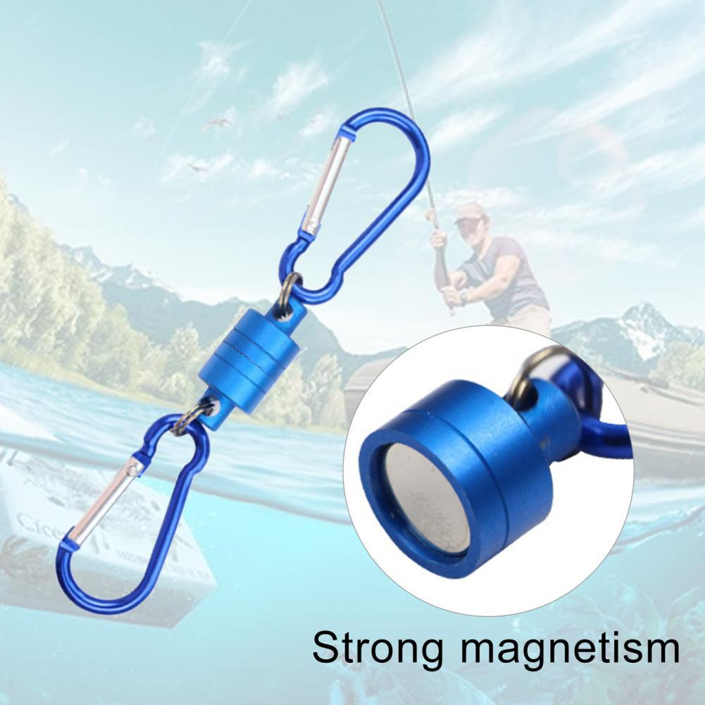 Outdoor Fishing Mountaineering Portable Release Lanyard Clip Magnetic Carabiner Release Lanyard Clip Magnetic Carabiner Lanyard