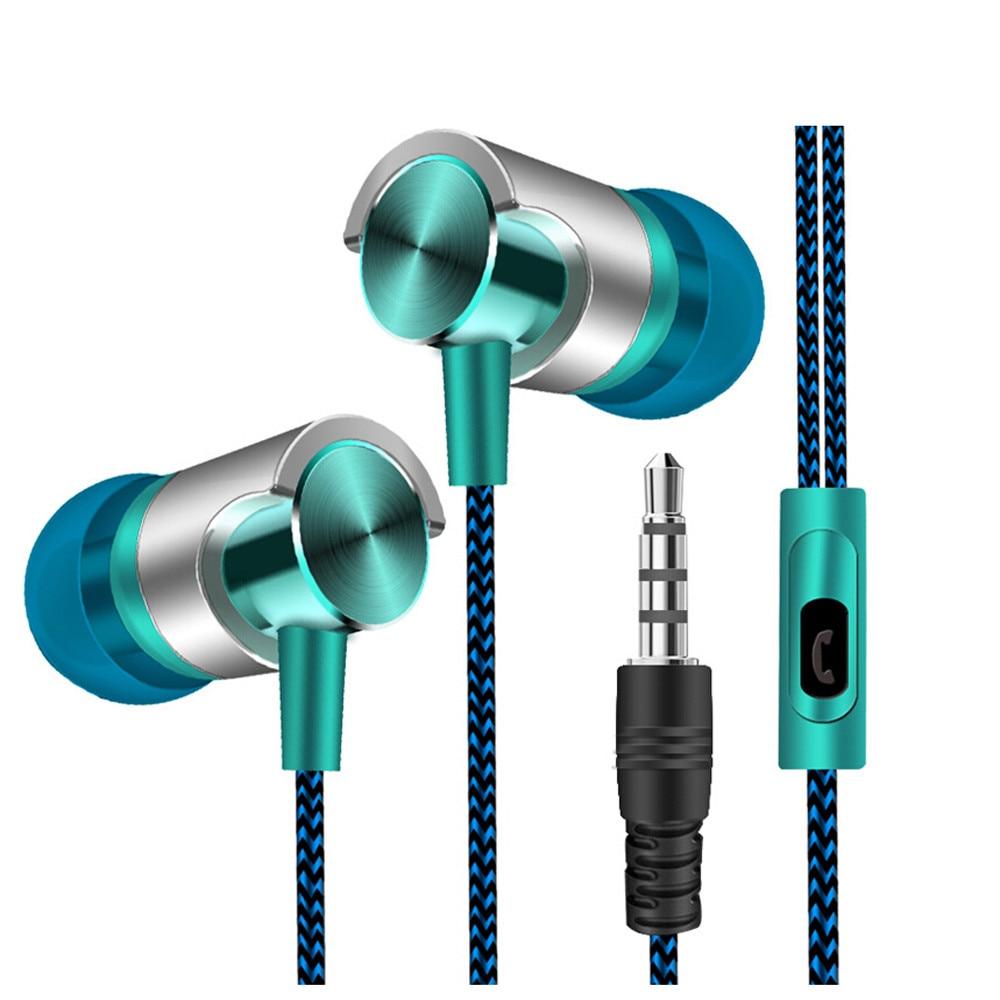 CARPRIE Universal de 3,5mm en la oreja auriculares estéreo para auriculares estéreo con Supergraves música auriculares con micrófono para teléfono móvil 90731
