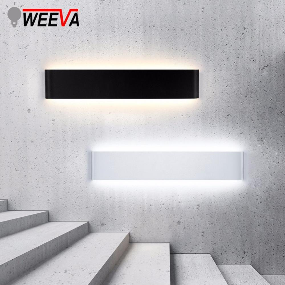 Led Wall Lamp Modern Indoor Lighting Fixture Minimalist Sconce 6W 20W 24W Bedroom Bedside Living Room Hallway Stair Home Decor