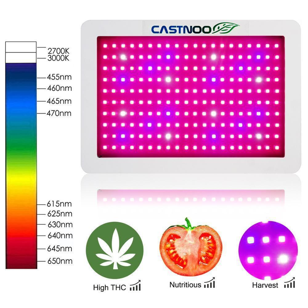 Multi-Grow Light 1000W Full Spectrum High Yield LED Grow Lamp Best Indoor Fruit Plants Grow and flower
