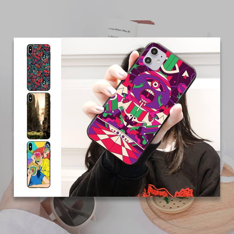Funda de teléfono Linda Zombie Human para Iphone 11 Pro Max Xr Xs Max 6S 8 7 Plus funda trasera suave