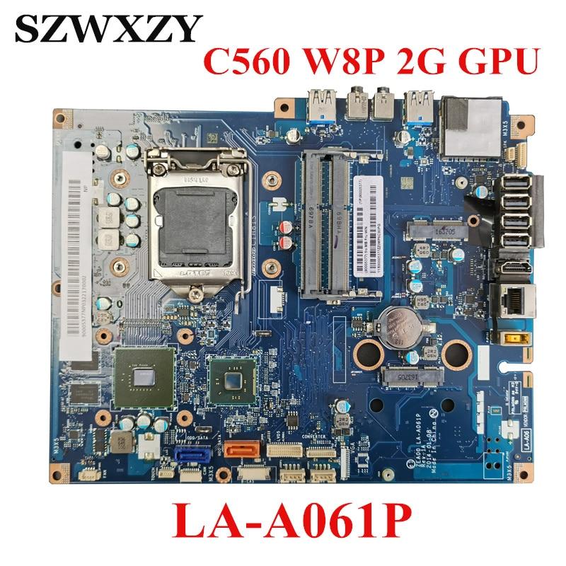 Para Lenovo Z50-75 placa base de computadora portátil 5B20F66799 NM-A291 DDR3L FX-7500 CPU 2G GPU