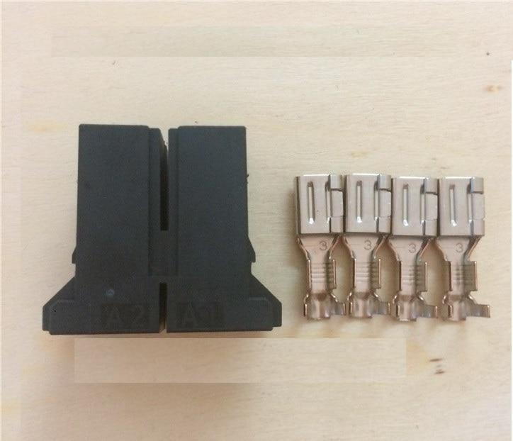 AMP D-5 Power Stecker 4 Pins Stecker terminal 18-10S 22-22S A06B-6110-K201 für FANUC Servo motor