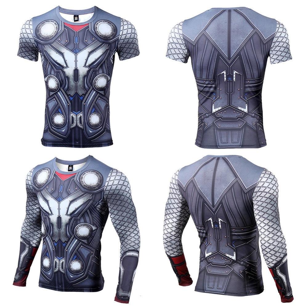 New Summer 3D Thor T Shirt Men Women T-Shirt Compression Gym Short Sleeve Brand Tee Shirt Tops&Tees