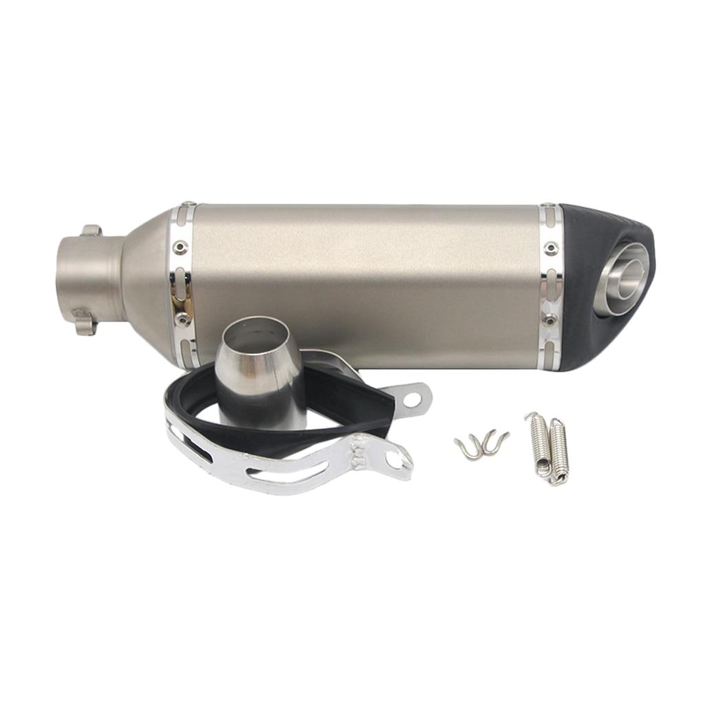 51mm silenciador de escape Silenciador para ZZR ZX6R 250R EX250 Z800 Z750 Z250SL