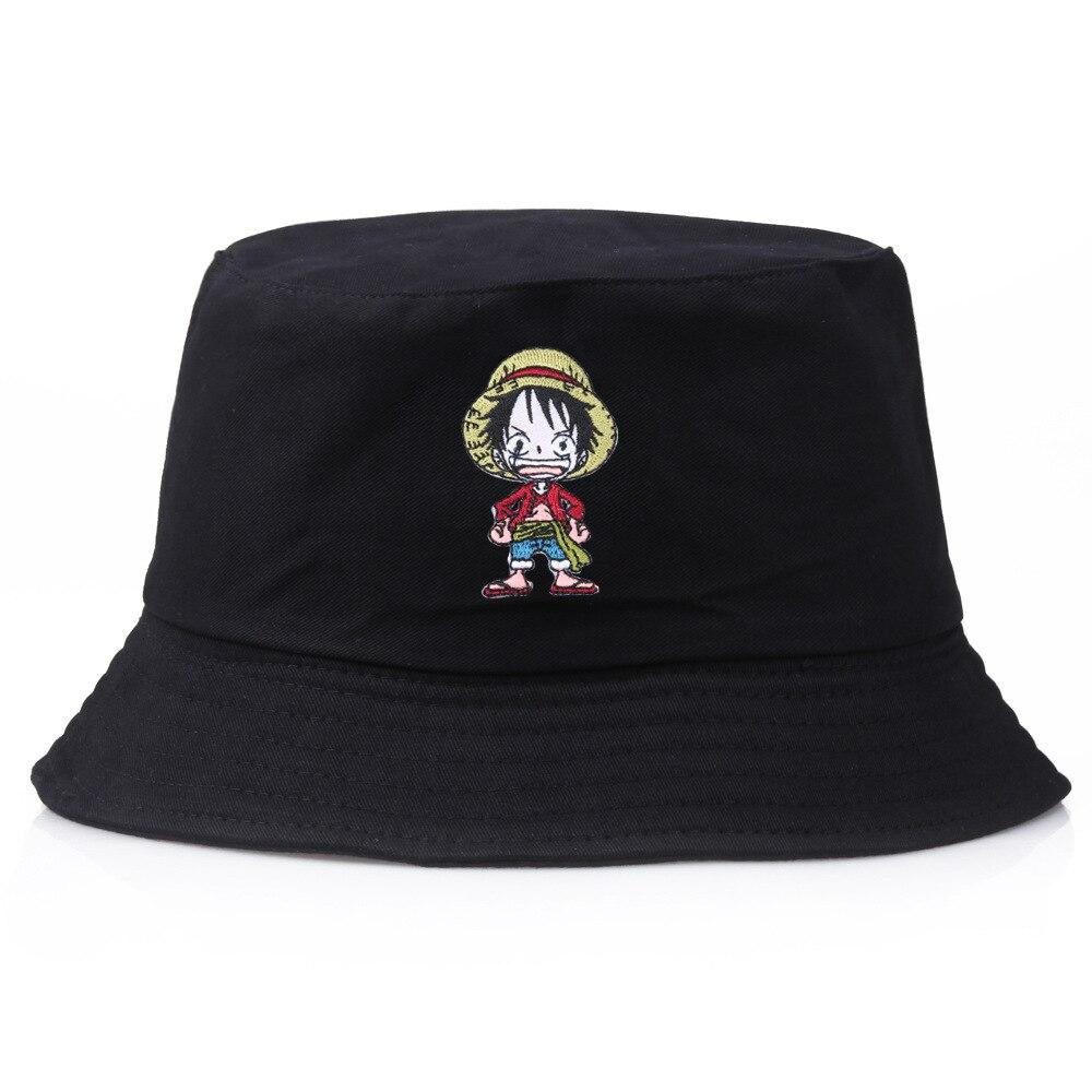 Sombrero de pescador Luffy, sombrero de verano de una pieza, sombrero plano Panamá, sombrero de pescador pescando, sombrero Casual