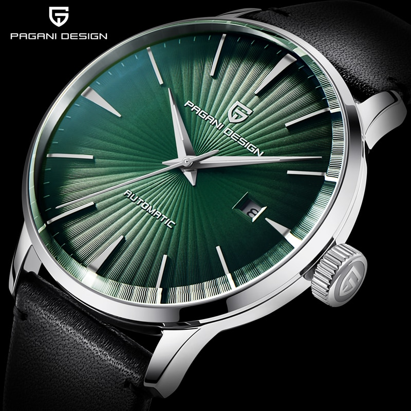 PAGANI Design Men's Fashion Casual Mechanical Watches Waterproof 50M Stainless Steel Brand Luxury Automatic Relogio Masculino
