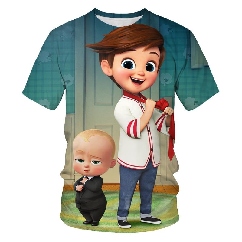 Милый Детская футболка, футболки для детей, уличная одежда, повседневная одежда для девочек, топы и футболки, одежда для детей футболка с при...