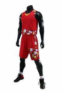 Brand New men basketball jersey and shorts man shirt basketball uniform mens sports suits camiseta basketball#292027