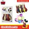 Original Disney Mickey Minnie decoración de globos para fiestas 6 unids/pack seguro de látex Natural globo de nube caramelo diseño fiesta suministros