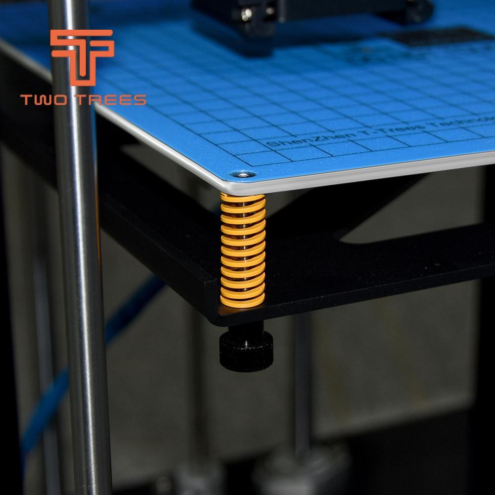 4pc/10pcs 3D מדפסת אביב מחומם מיטת 10*25MM חם צלחת 3D מדפסת אביזרי Reprap מיובא עבור אנדר 3 CR10 Anet A8 A6 E12