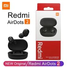 Xiaomi Redmi Airdots 2 TWS Wireless Earphones Bluetooth Headphones Headset With Mic Original Redmi Airdots 2 Wireless Headphones