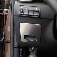 Revêtement de Protection pour Kia Sportage Kx5 QL 2017   Accessoires 1 pièce en acier inoxydable, boîte de rangement principale pour voiture, revêtement dhabillage,