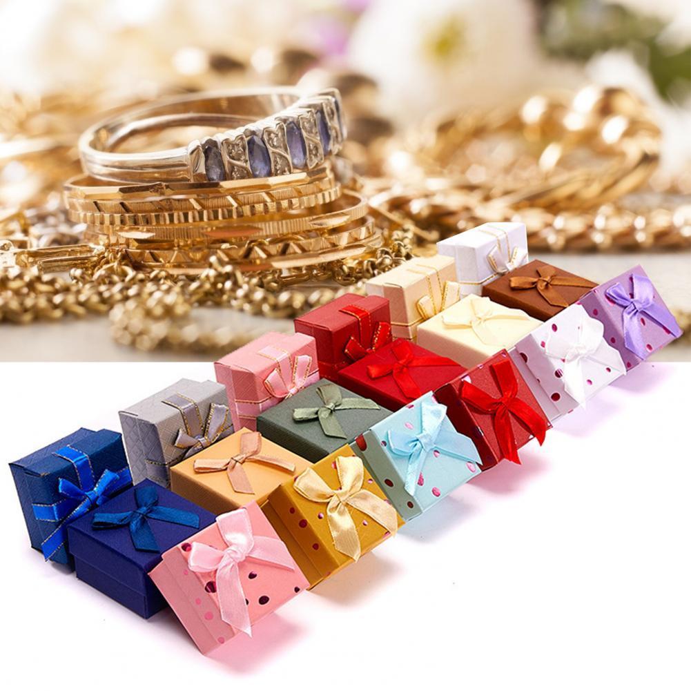 шкатулки для украшений champ collection ch 23326 5 6 шт. шкатулки для украшений, элегантный дисплей, портативные подарочные коробки для украшений для сережек