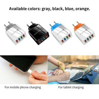 Fast Charge 3.0 Charger Wall Fast Charging For Samsung S10 For Xiaomi  For Huawei Mobile Phone Chargers Adapter For iPhone