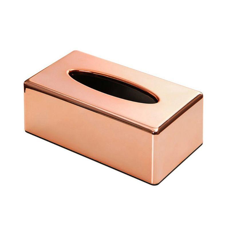 Estante de papel para servilletas, caja de pañuelos, recipiente de servilleta, soporte para hogar, oficina, KTV Kitcen Hotel, estuche protector Facial para coche