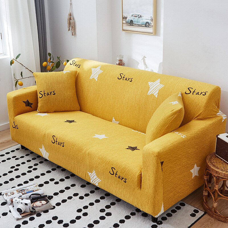 Sofa cover cloth art four seasons elastic full cover combination universal Slipcovers couch Armchair Cover Single/Two/Three