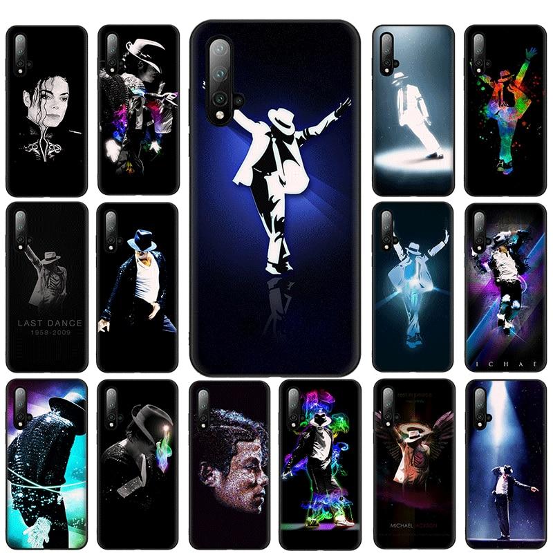 Michael Jackson Luxury Soft Phone Shell case for Huawei Y6 Y6 Prime Y7 Prime Y9 Y9 Prime Y6P Y7A Y9A Case