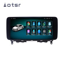 AOTSR-lecteur autoradio pour mercedes-benz W204   Android 9.0, Navigation GPS, lecteur multimédia, tête dunité, enregistreur de bande
